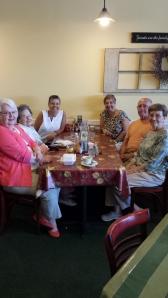 Kathleen, Aunt Leona, Kris, Bec, John, Mary Lou.