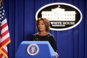 Alfre Woodard as TV's State of Affairs' President Constance Payton