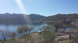 saguaro lake from picnic area