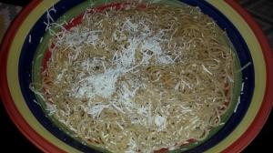 spaghetti mizithra