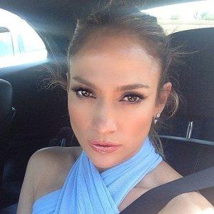 J-Lo selfie.