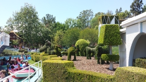 I love the topiary all around the park.
