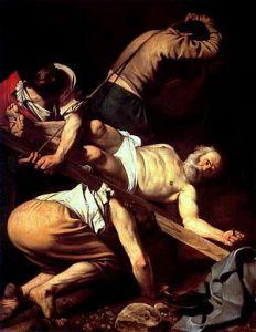 300px-Caravaggio_-_Martirio_di_San_Pietro