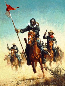 Buffalo Soldiers, stolen from Africa, brought to America (as the song goes)