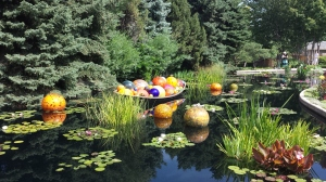 Chihuly Glass exhibit at Denver Botanical Gardens