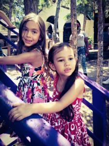 Kaiya and Mylee at recent  Renaissance Festival.