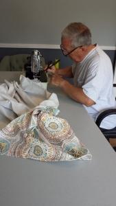 bill sewing valance