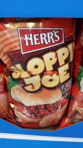 sloppy joe potato chips