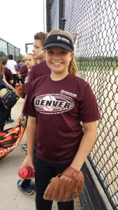 Addie softball