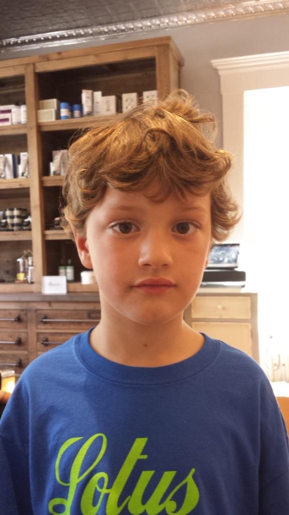 Joseph before haircut