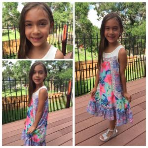 Kaiya starts 2nd grade.