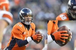 Peyton with glove