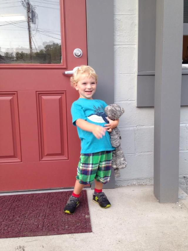 MIcah first day 2015