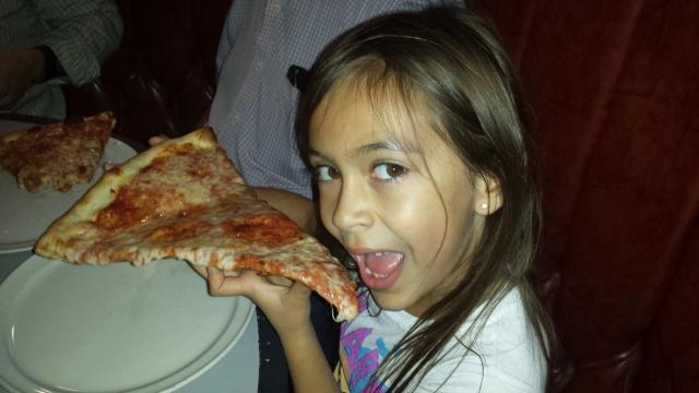 kaiya and huge slice