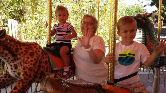 We had us some carousel!