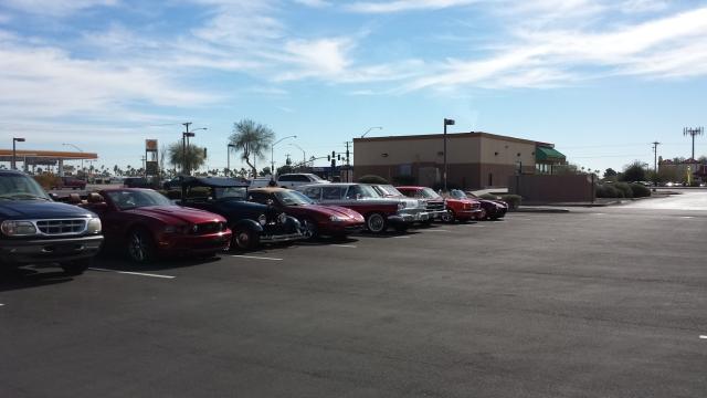 cars at papa kelsies