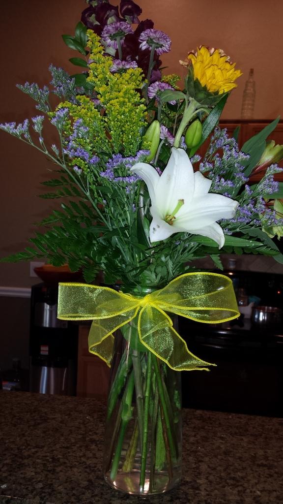 Bill's flowers