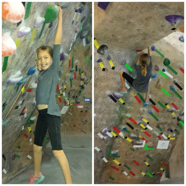 dagny climbing