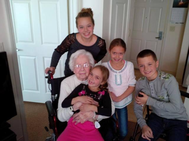 mclains and grandma