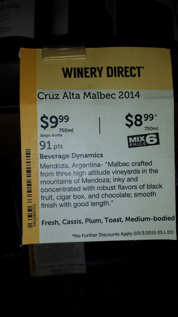 wine description