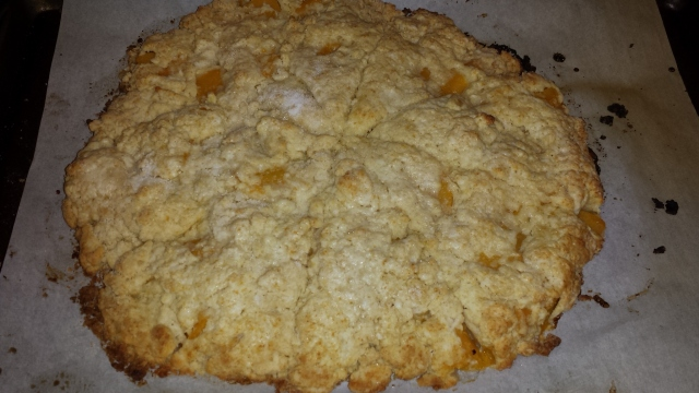peach scone disc
