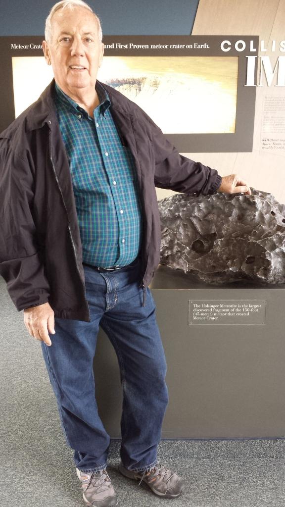 bill simulated meteorite