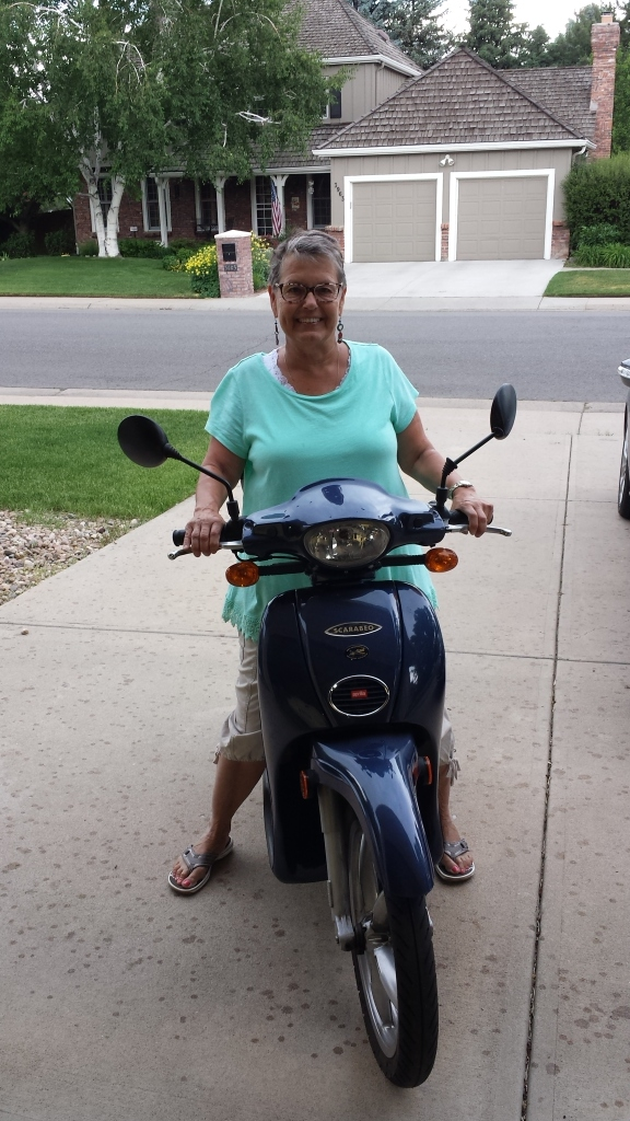 Kris scooter 2016