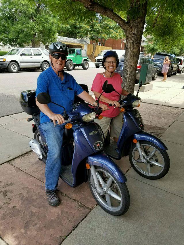 Bill Kris scooters
