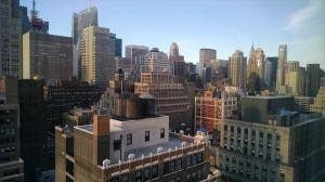 View from Bec NYC window
