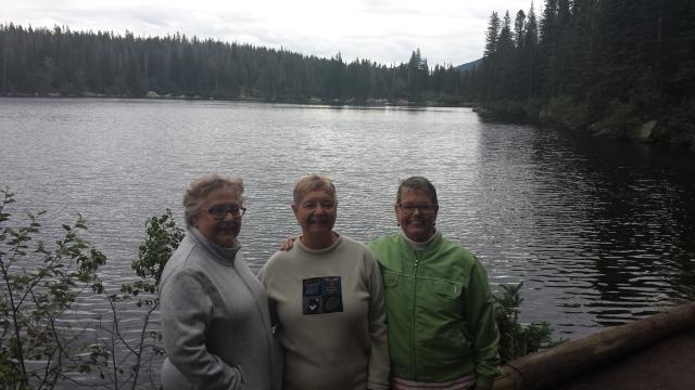 Bec Jen Kris Bear Lake